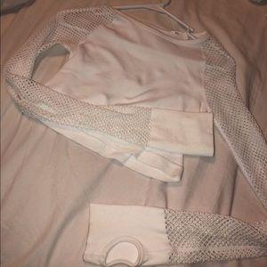 F21 Cropped Long Sleeve